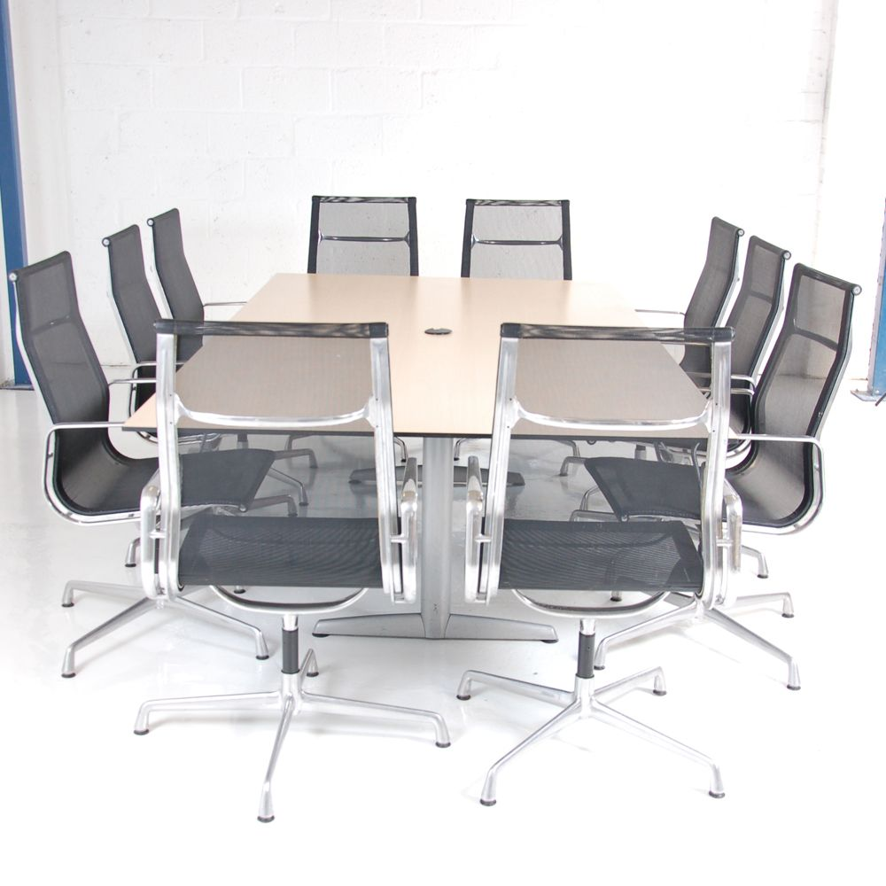 Ahrend 10 Seater Boardroom Table